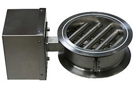 Magnetic Separators use powerful magnets to remove matal contamination (magnetic) from powders